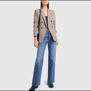 SLVRLAKE Grace High Rise Cropped Blue Denim Jeans